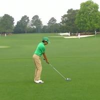 Le jeune golfeur Andy Mac