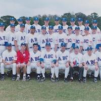 Une photo d'équipe de baseball