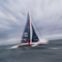 Le bateau Seaexplorer de Boris Herrmann en mer