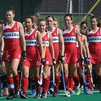 L'équipe canadienne de hockey sur gazon