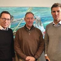Andreas Dittmer, Graham Barton et Anders Gustafsson