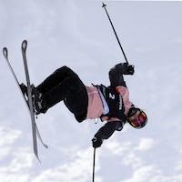 Cassie Sharpe en action en Autriche