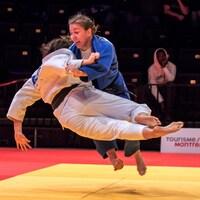 Catherine Beauchemin-Pinard lors des Championnats canadiens élite 2019 à Montréal