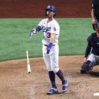 Un joueur de baseball