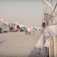 Le camp de réfugiés Container City à la frontière entre la Turquie et la Syrie, dans la région de Kilis.
