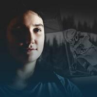 La skieuse Éloïse Carle