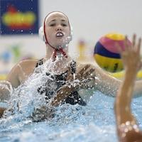 La joueuse canadienne Emma Wright