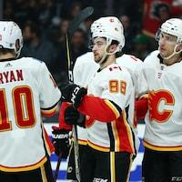 Les Flames ont subi l'élimination en cinq matchs au premier tour des séries.