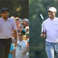 Francesco Molinari et Tiger Woods