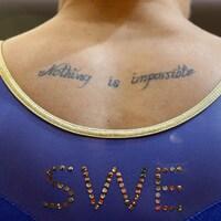 Une gymnaste suédoise