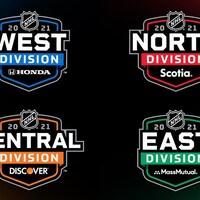 Logos officiels pour les divisions de la LNH 2020-2021