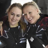 Melissa Lotholz et Kaillie Humphries