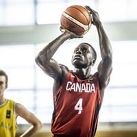 Karim Mané a représenté le Canada à la Coupe du monde de basketball des moins de 19 ans, en Grèce, à l'été 2019.