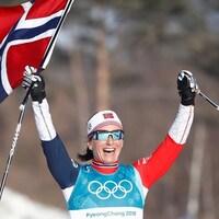 La Norvégienne Marit Bjoergen