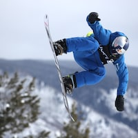 Mark McMorris aux X Games d'Aspen, au Colorado
