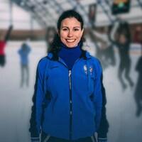 La patineuse artistique Martine Dagenais