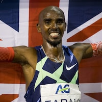 Mo Farah a remporté l'or olympique sur 5000 m et 10 000 m lors des Jeux de 2012 et de 2016, à Londres et à Rio.