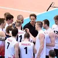 L'équipe canadienne de volleyball masculin