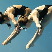 Meaghan Benfeito et Caeli McKay terminent 4es au 10 m synchro