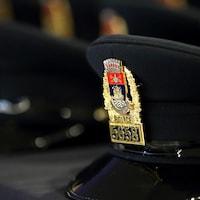 Une casquette du Service de police de la Ville de Québec