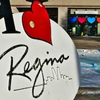 L'hôtel de ville à Regina en hiver.