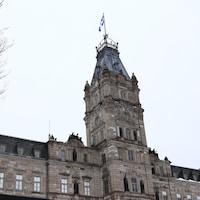 Le bâtiment du Parlement à Québec