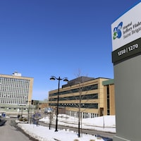 L'hôpital Jeffery Hale à Québec, le 31 mars 2020