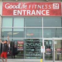 La facade de GoodLife Fitness LaSalle à Sudbury.