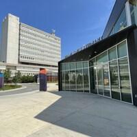 Vue extérieure de l'Université Laurentienne.