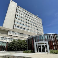 Un bâtiment de l'Université Laurentienne