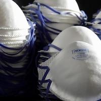 Masques respiratoires N95.
