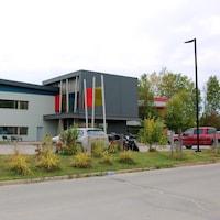 Les bureaux du Conseil des Atikamekw de Wemotaci.