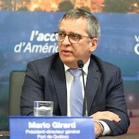 Le pdg du Port de Québec, Mario Girard