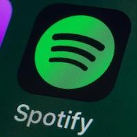 L'application Spotify sur un écran de téléphone