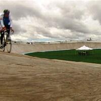 Le vélodrome de Dieppe
