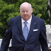 Le sénateur Mike Duffy, le 28 mai 2013.