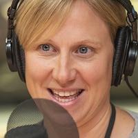 Stephanie Marshall au micro de Stephan Bureau.