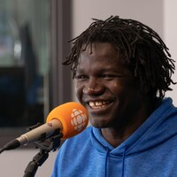 Boucar Diouf, en studio