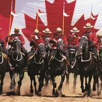 Gendarmes à chevaux