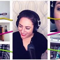 Captation de la video EVERY LITTLE STEP de la chanteuse Jazz Andrea Superstein.