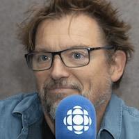 Vincent Graton au studio 30 de Radio-Canada, à Montréal, le 23 août 2018