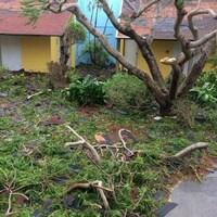 Luc Belliveau et sa conjointe sont toujours coincés aux îles Turks et Caicos après le passage de l'ouragan Irma.