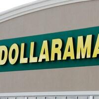 Un logo du magasin Dollarama.