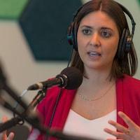La journaliste de CBC Gabrielle Fahmy