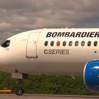 Un avion C Series de Bombardier