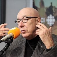 François Dompierre, en studio
