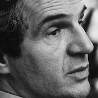 François Truffaut à Londres le 17 mars 1978.