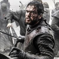 Une scène de la série américaine <i>Game of Thrones</i>
