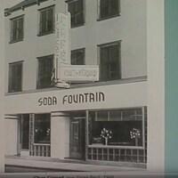 Image de la façade du restaurant Chez Gérard Soda Fountain.