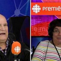 Serge Leblanc et Véronique Trudeau